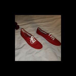 Genuine Keds Original Women's Red Sneakers